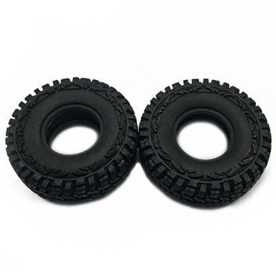 1.9 inch Tire Skin for 1 / 10 Simulation Climbing Car Accessories 2pcs