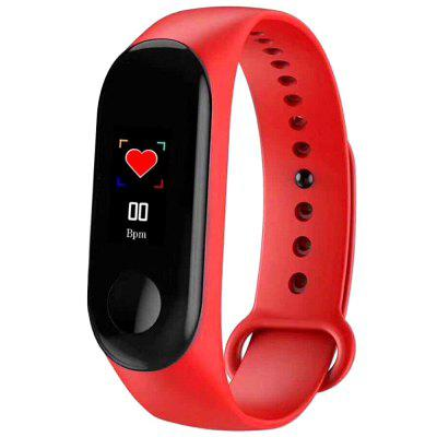 M3 Smart Bracelet Heart Rate Blood Pressure Monitor Pedometer Fitness Tracker Sports Smartwatch