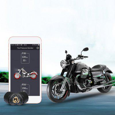 Motorcycle Smart Bluetooth Tire Pressure Monitoring System TPMS