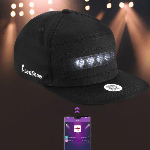 Cool LED Display Hat Cap