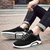 SUROM Men Fashionable Brushed Outdoor Sports Shoes - BLACK