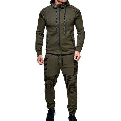 Men's Outdoor Leisure Sweatshirt Set