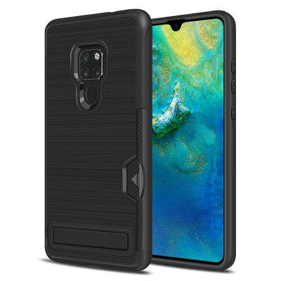 Ultra-thin TPU+PC Two-in-one Brushed King Mobile Phone Case for HUAWEI Mate 20