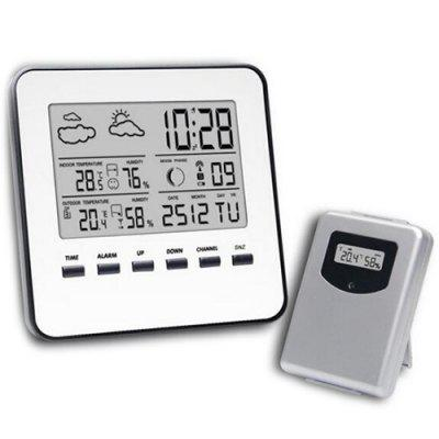 Wireless Alarm Clock Electronic Thermometer