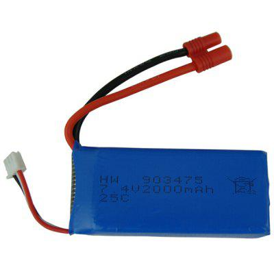 903475 7.4V 2000mAh Lithium Battery for Syma X8W Remote Control Aircraft Drone