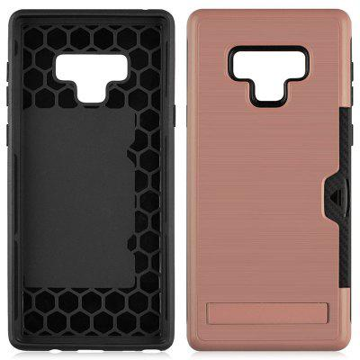 Ultra-thin TPU+PC Two-in-one Brushed King Mobile Phone Case for Samsung Galaxy Note 9