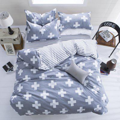 Nordic Classic Refreshing Simple Bedding Set