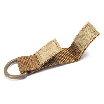 Outdoor Tactical Nylon D-type ophangring sleutelhanger