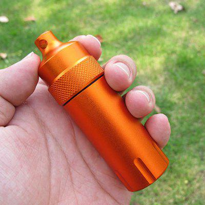 EDC Sealed Fashion Waterproof Box First Aid Bottle