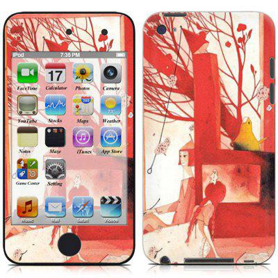 Color Fashion Sticker for iPod touch 4