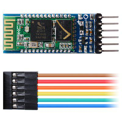 HC - 05 Master-Slave 6pin JY - MCU Anti-Reverse Bluetooth Serial Pass-through Module