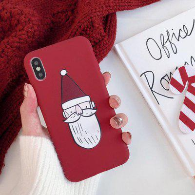 Christmas Soft Shell Phone Case for iPhone XS Max