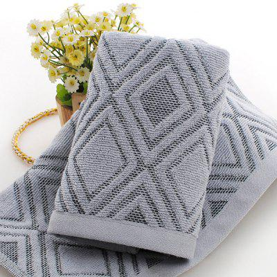Cotton 32 Jacquard Diamond Shaped Towel