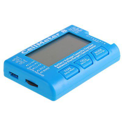 8S Electric Backlight LCD Display Tester Battery Discharger