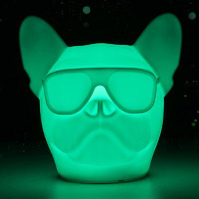 Creative Dog Shape LED Pat Night Light for Daily Use