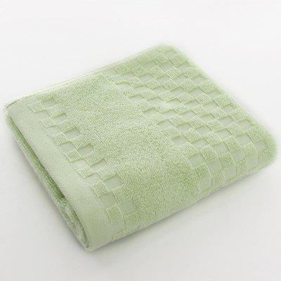 Solid Color Jacquard Adult Face Towel