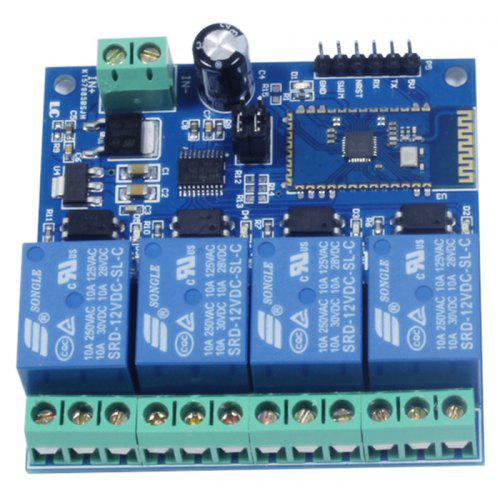 LC WM - Relay 12V 4-way Bluetooth Relay Module Smart Home Mobile APP Remote  Control Switch