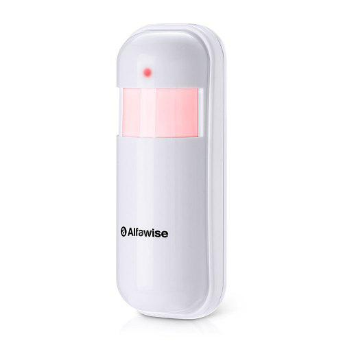 Alfawise 433MHz Wireless PIR Detector - White
