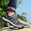 Summer New Breathable Men's Shoes Mesh Outdoor Hiking Shoes Hiking Mesh - GRAY