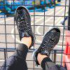 Trend Wild άθλημα αναπνέει Casual Running Shoes - Μαύρος