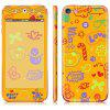 Color Fashion Sticker for iPod touch 5 - BEE YELLOW