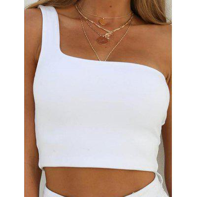 Sports Single Shoulder without Rim Strap Wrapped Chest Women Camisole