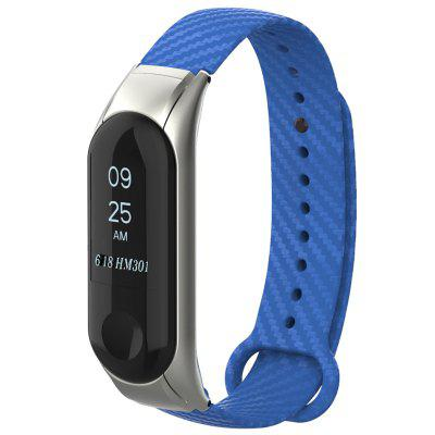 Carbon Fiber Replacement Wristband Watch Strap for Xiaomi Mi Band 3