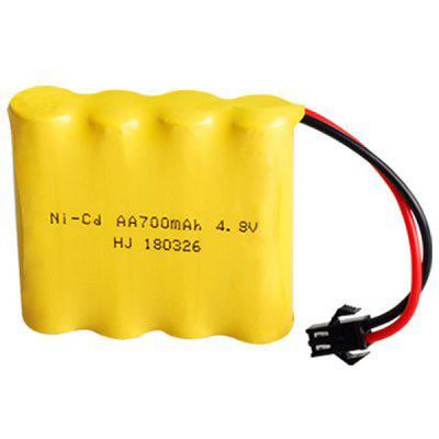 4.8V 700mAh Nickel-cadmium Rechargeable Battery Pack