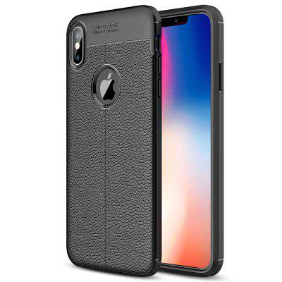 Coque TPU Lychee Phone pour iPhone XS Max