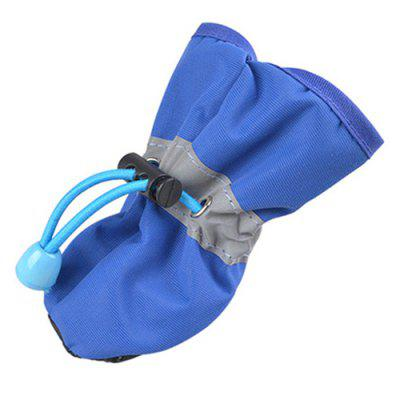 Soft Rain Boots Dog Waterproof Pet Shoes