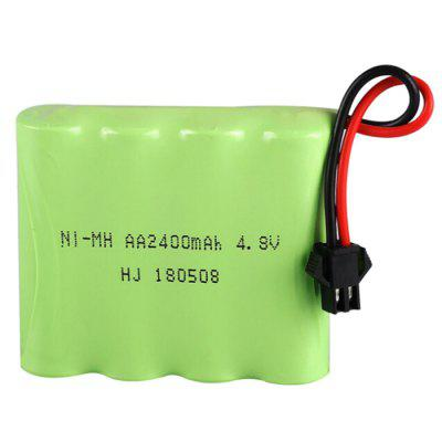 Remote Control Car 4.8V 2400mAh Rechargeable NiMH Battery Pack