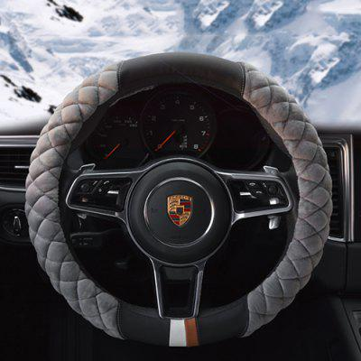 HGBT002 High-end Plush Car Winter Steering Wheel Cover