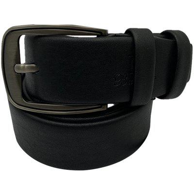 Men Casual Pin Buckle Pure Leather Belt