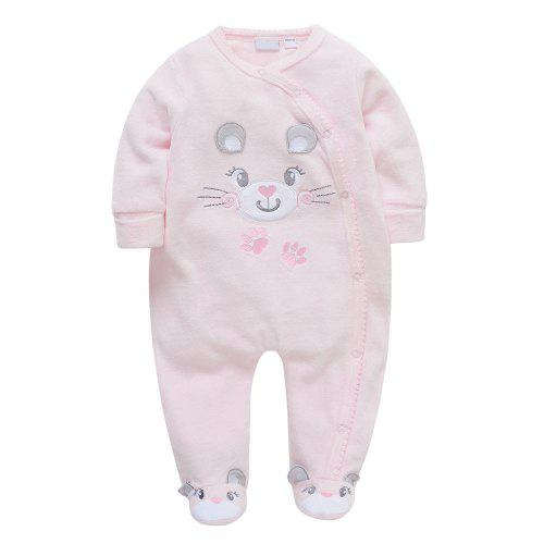 d61f1576e Female Baby Cartoon Climbing Suit -  17.83 Free Shipping