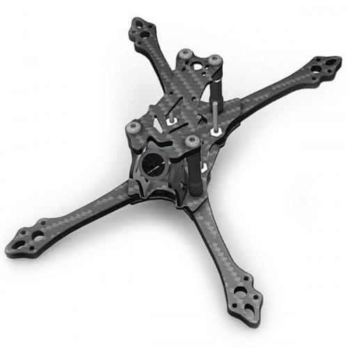 BCROW AX145 145mm 3 Inch Stretch X Carbon Fiber Frame Kit 4mm Arm for RC Drone FPV Racing