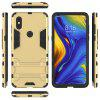 Luanke Two-in-one Bracket Anti-shock Phone Case for Xiaomi Mix 3 - GOLD