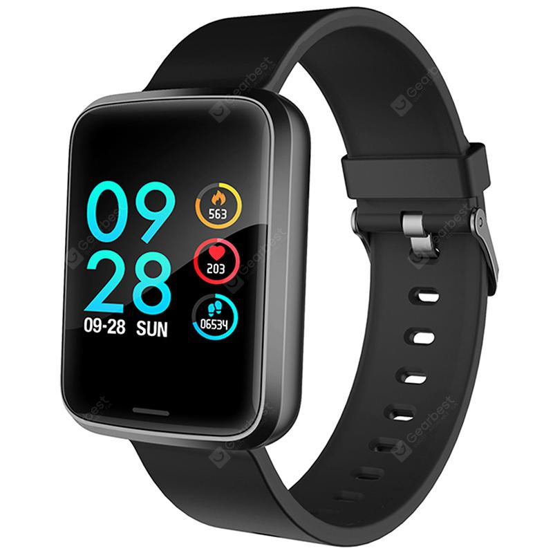 Alfawise H19 RFID Sports Smartwatch Fitness Tracker - BLACK
