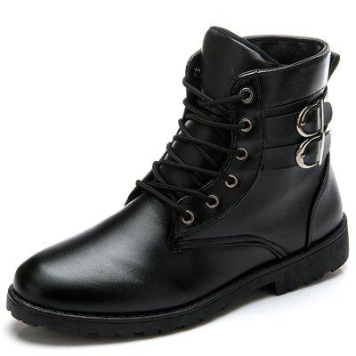 Men Stylish Leisure High-top Boots