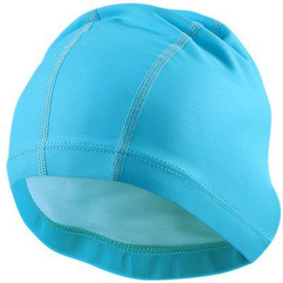 PU Coated Swimming Cap Waterproof Swimming Cap
