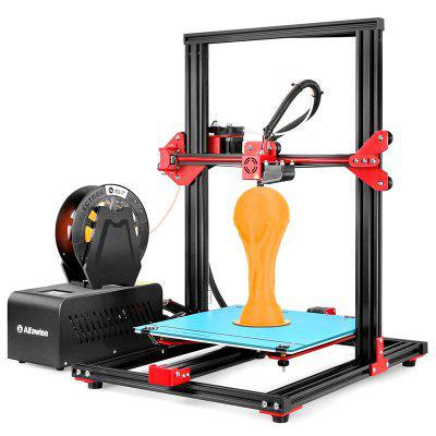 Gearbest Alfawise U20 Large Scale 2.8 inch Touch Screen DIY 3D Printer - EU - U20 EU Plug Black