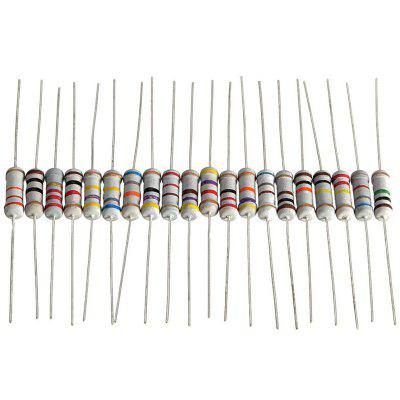 20 Value 1W Resistance Assortment Kit Resistor 200pcs