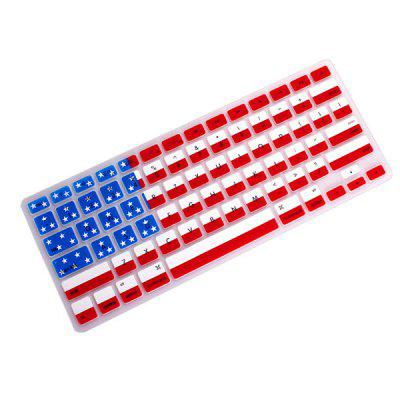 American Flag Keyboard Stickers for iOS Notebook Macbook Pro Air Retina 13 / 15 Inch
