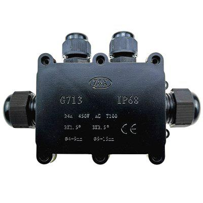 IP68 Four-way Waterproof Junction Box