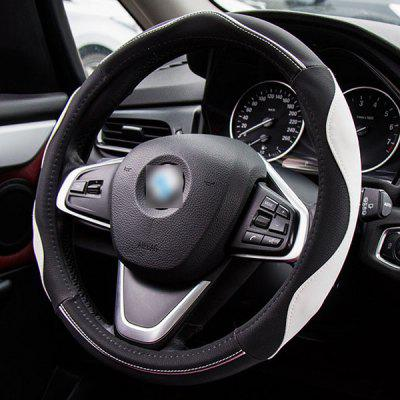 Auto Accessories 38 General Quality High Quality Lambskin Anti-skid Steering Wheel Cover