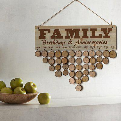 JM01089 Wooden Country Fir Reminder Message Note Board