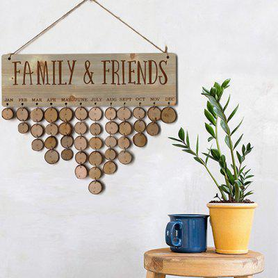 JM01092 Wooden Country Fir Reminder Message Note Board