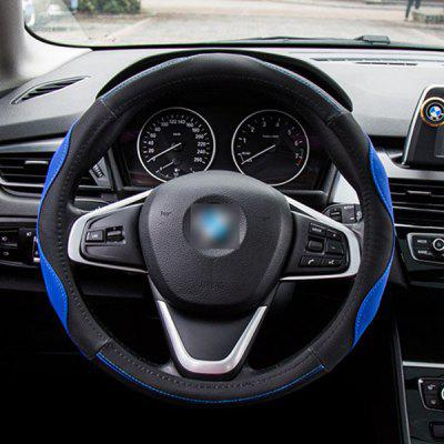 Auto Accessories Universal 3D Stitching Anti-skid Steering Wheel Cover