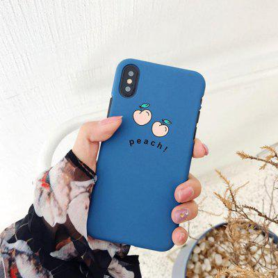 Small Peach Phone Case for iPhone XS Max