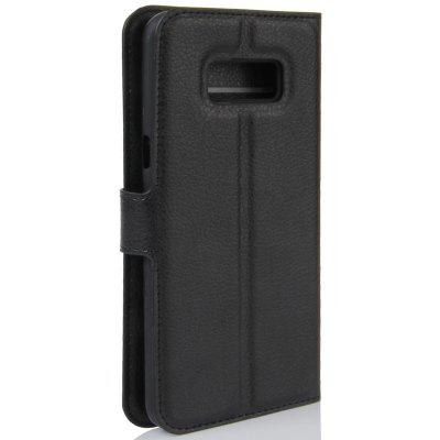 Litchi PU Leather Wallet Case for Samsung S8 Plus