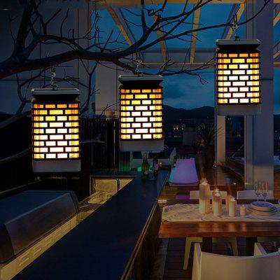 3W Solar Led Flame Chandelier